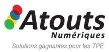 Logo Atouts Nuémriques