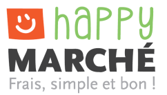 Logo happy marché